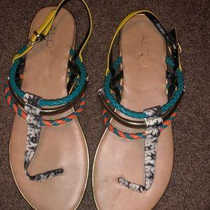 ALDO Multi Color thong sandals